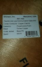 500 ft RFC-600 50 Ohm low loss LMR600 compatibleCoax CB Ham Antenna Cable