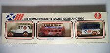 Lledo Commonwealth Games Diecast Toy Truck Commemorative Set Car Bus Lorry 1986