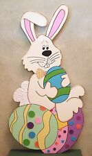 "Easter Primitive Wood Craft Pattern-""Riley""-38"" Tall"