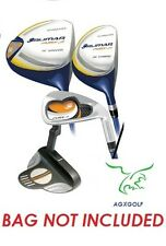 LEFT ORLIMAR FURY AGE 4-7 JUNIOR FIVE CLUB GRAPHITE GOLF SET DR+FWD+IRONS+PUTTER