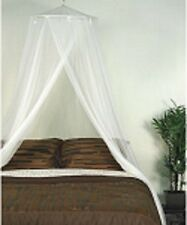 Ivory Adult Mosquito Net Canopy Polyester Bedroom Full