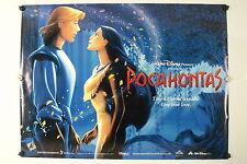 POCAHONTAS - Linda Hunt - Original Movie Poster 30 X 40 - 1995  Rolled DS C9/C10
