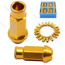 D1-SPEC GOLD JDM WHEEL LUG NUT FOR HONDA Ford Toyota M12 X 1.5 20PCS NEW