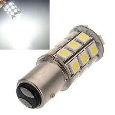 1157 BAY15D P21/5W 27SMD 5050 Car 12V LED Tail Brake Light Bulb Lamp White