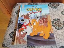 Hardcover Disney's Oliver & Company Mouse Works Classics Collection Storybook