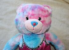 Build A Bear Teddy Bubble Gum Ice Cream Baskin Robbins Plush Stuffed Animal