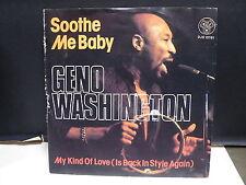 GENO WASHINGTON Soothe me baby DJS 10761
