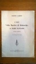 L'Ode alla Martire di Delaroche - Eugenio Alberti, 1929, con dedica autografa