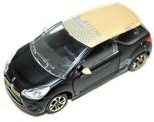 Citroen DS3 Racing Model Car Black with Gold Roof Genuine AMC19308