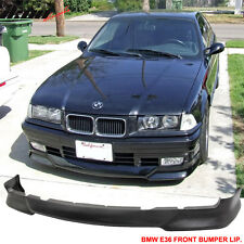 1992-1998 BMW E36 3 Series M Tech Msport Front Bumper Lip Unpainted - Urethane