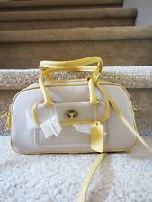 Auth NWT NEW COACH 9778 yellow penelope CANVAS Crossbody HANDBAG satchel