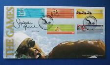 BENHAM 2002 THE FRIENDLY GAMES FIRST DAY COVER SIGNED BY SARAH PRICE
