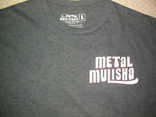 METAL MULISHA T SHIRT LARGE L  DIAZ UFC MMA BJJ JIU JUDO K1 BOXING MUAY THAI NEW