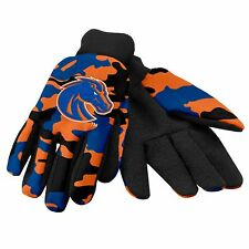 Boise State Broncos Camouflage Sports Utility Gloves Work gardening NEW CAMO