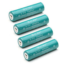4PCS MECO 3.7v 4000mAh Powerful Protected Rechargeable 18650 Li-ion Battery