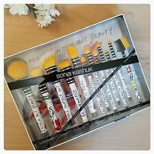 Sonia Kashuk Knockout Beauty 12 Piece Brush Set - Limited Edition - New In Box!