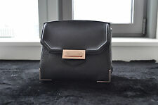 """100% NEW AUTHENTIC ALEXANDER WANG """"MARION"""" IN PEBBLED BLACK WITH ROSE GOLD"""