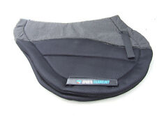 Premier Equine Air Flow Antislip Saddle Pad - Cross Country Shape Black