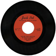 "CLARA HARDY  ""YOU'RE TOO JEALOUS c/w THE TOUCH OF LOVE""   NORTHERN SOUL  LISTEN!"