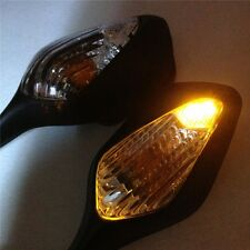New Set Black side mirrors with turn signals For Honda CBR 1000RR (2008-2012)