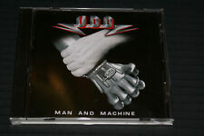 UDO MAN AND MACHINE CD FIRST PRESSING 2002 GERMAN IMPORT OUT OF PRINT NEAR MINT