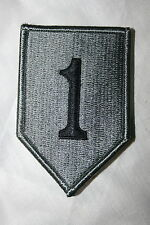 ORIGINAL US CURRENT ISSUE 1ST INFANTRY DIVISION ACU VELCRO CLOTH BADGE PATCH
