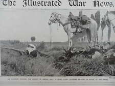 1914 SPAHI LIGHT ALGERIAN CAVALRY IN FRANCE IN ACTION AT THE FRONT WWI WW1