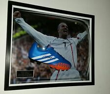 ** Rare DAVID BECKHAM of England Signed BOOT Display *** AFTAL DEALER APPROVED