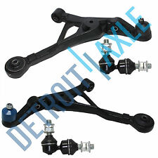 2 Front Lower Control Arm and Ball Joint Assembly + Pair of Stabilizer Bar Links