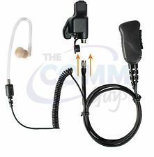 Pryme® QR Police Lapel Mic Earpiece w/ Tube for Motorola XTS5000 XTS2500 XTS3000