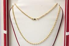 22ct/916 sparkling attractive indian gold rope style chain *Boxed*