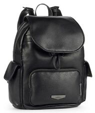 KIPLING Premium City Pack S BLACK Leather Rucksack Backpack K18726900 RRP £229