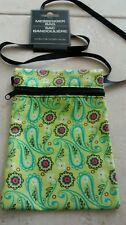 New Cross Body Nylon Bag Small 4.5 x 7 inch Multi-Color Multifunctional