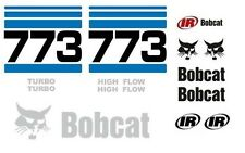 (ORIGINAL LOOK) BOBCAT 773 FULL DECAL STICKER SET KIT SKID STEER OR