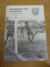 15/04/1978 Basingstoke Town v Crawley  . Item appears to be in good condition un