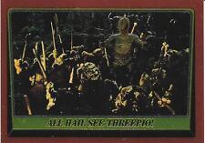 1999 Topps Star Wars Chrome Archives #77 All Hail See Threepio!   Ewok
