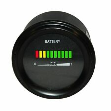 Multi voltage forklift or golf cart battery indicator