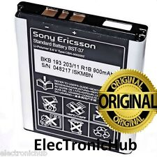 SONY ERICSSON BST-37 BST37 BATTERY For W550i W700i W710i W810i Z300i