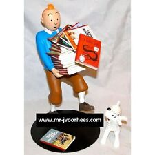 Extremely Rare! Tintin with Snowy in the Libary Limited Edition Figurine Statue