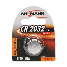 ANSMANN 3V Lithium button cell, coin cell CR2032 (DL2032)