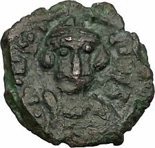 CONSTANS II 641AD Follis Syracuse Sicily Ancient Medieval Byzantine Coin i51391
