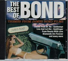 THE BEST OF BOND - Themes From The James Bond Films - CD Album