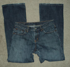 Ralph Lauren Polo Jeans women's size 6 boot cut mid rise med wash inseam 29 in
