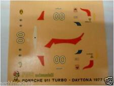 PORSCHE 911 TURBO DAYTONA 1977 DECALS 1/43