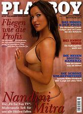 Playboy Juli/07/2002   Moderatorin NANDINI MITRA*
