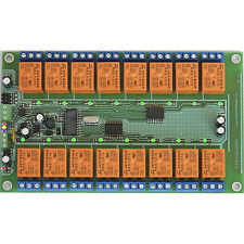 STR1160000H RS-485 board controller 16 Outputs 12V Relays Home Automation