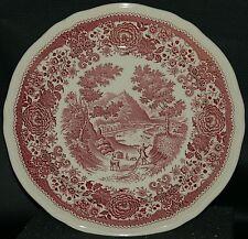 Burgenland rot - Teller Essteller Speiseteller - Ø 25cm - Villeroy & Boch - 6v8