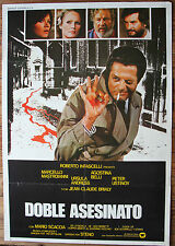 Used - Cartel de Cine DOBLE ASESINATO  Vintage Movie Film Poster - Usado