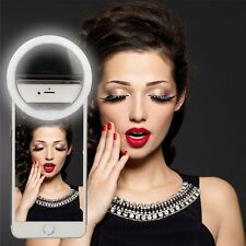 Luxury LED Light Up Selfie Luminous Phone Ring For iPhone 7/6S/Plus Samsung S7