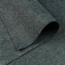 "9 ""x18"" en gris humo Fieltro De Lana Tejido / Tarjeta De Juguete Muñeca Quilting Oscuro ovejas jaspeado"